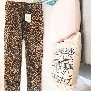 Leopard Skinnys || Denim⚡️⚡️⚡️